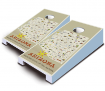 """Arizona Poster"" Tabletop Cornhole Set"