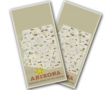 """Arizona Poster"" Cornhole Wrap"