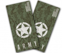 """Army Digital Camo"" Cornhole Wrap"