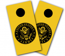 """Army Seal"" Cornhole Wrap"