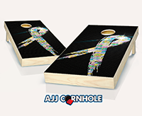"""Cancer Support"" Cornhole Set"