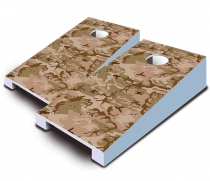 """Desert Camo"" Tabletop Cornhole Set"