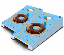 """Doughnut"" Tabletop Cornhole Set"