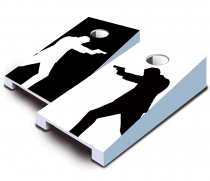 """Draw"" Tabletop Cornhole Set"
