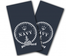 """Navy Global Force for Good"" Cornhole Wrap"