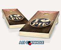 """I Love Pie"" Cornhole Set"