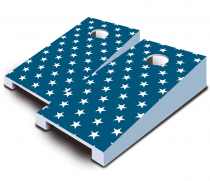 """Liberty Stars"" Tabletop Cornhole Set"