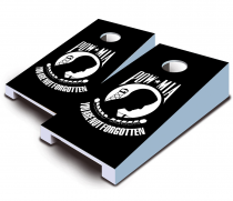 """POW MIA"" Tabletop Cornhole Set"