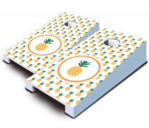 """Pineapple"" Tabletop Cornhole Set"
