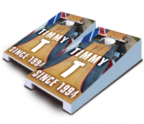 """Ramp Drop In"" Tabletop Cornhole Set"