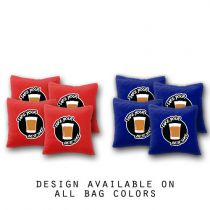 """Take Your Best Shot"" Cornhole Bags - Set of 8"