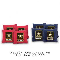 """Army"" Cornhole Bags - Set of 8"