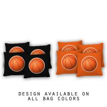 """Basketball"" Cornhole Bags - Set of 8"