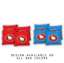 """Certified Lamb"" Cornhole Bags - Set of 8"
