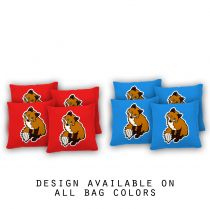 """Cute Fox"" Cornhole Bags - Set of 8"