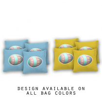 """Easter Egg"" Cornhole Bags - Set of 8"