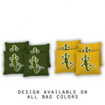"""Gecko"" Cornhole Bags - Set of 8"