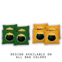 """Pot of Gold"" Cornhole Bags - Set of 8"