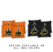 """Haunted House"" Cornhole Bags - Set of 8"