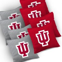 Indiana Hoosiers Cornhole Bags - Set of 8