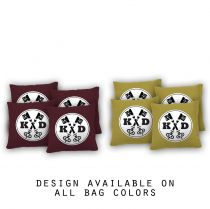 """Key Initials"" Cornhole Bags - Set of 8"