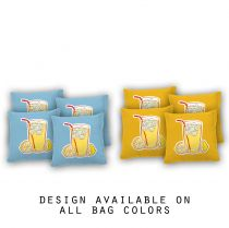 """Lemonade"" Cornhole Bags - Set of 8"