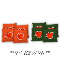 """Maple Leaf"" Cornhole Bags - Set of 8"