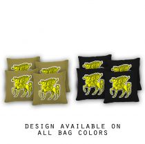 """Pegasus"" Cornhole Bags - Set of 8"