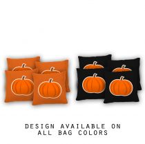 """Pumpkin"" Cornhole Bags - Set of 8"
