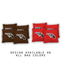 """Revolver"" Cornhole Bags - Set of 8"