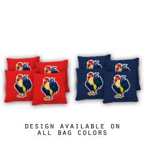 """Rooster"" Cornhole Bags - Set of 8"