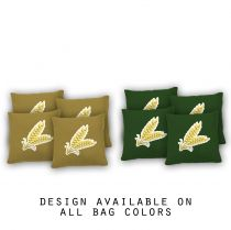 """Wheat Grass"" Cornhole Bags - Set of 8"
