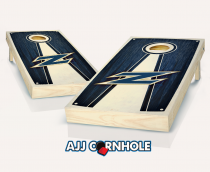 Akron Zips Stained Pyramid Cornhole Set