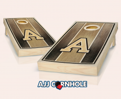 Army Stained Striped Cornhole Set
