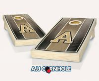 Army Stained Stripe Cornhole Set