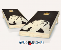 """Bear Stained"" Cornhole Set"