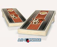 Bowling Green Stained Stripe Cornhole Set