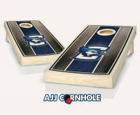 Creighton Stained Stripe Cornhole Set