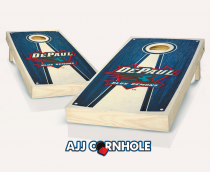 DePaul Stained Pyramid Cornhole Set