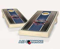DePaul Stained Stripe Cornhole Set