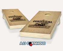 """Dovetail Household"" Stained Cornhole Set"