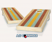 """Retro Stained East Coast"" Cornhole Set"