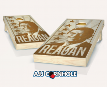"""Reagan"" Stained Cornhole Set"