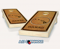 """Hawaii"" State Stained Cornhole Set"