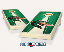 UAB Stained Pyramid Cornhole Set