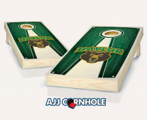 Baylor Stained Pyramid Cornhole Set