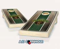 Baylor Stained Striped Cornhole Set