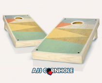 """Retro Stained Boat Shoe"" Cornhole Set"