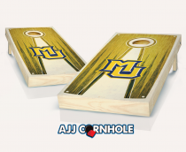 Marquette Stained Pyramid Cornhole Set