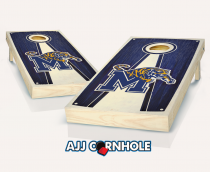 Memphis Stained Pyramid Cornhole Set